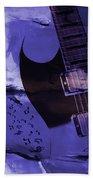 Guitar Art 001a Bath Towel
