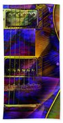 Guitars Bath Towel