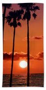 Gulf Coast Sunset Bath Towel
