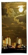 Gulf Shores Night Skys Bath Towel