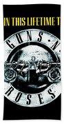 Guns And Roses Logo1 2017 Bath Towel