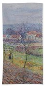Gustave Loiseau 1865 - 1935 Big Spring Landscape Bath Towel