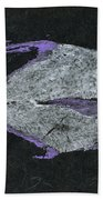 Gyotaku African Pompano Bath Towel by Captain Warren Sellers