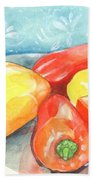 Gypsy Peppers Bath Towel