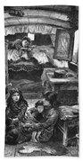 Gypsy Wagon, 1879 Bath Towel