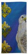 Gyr Falcon Bath Towel