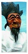 Hahoe Mask Bath Towel