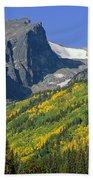 310221-hallett Peak In Autumn  Bath Towel