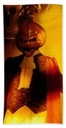 Halloween Nightmare Bath Towel