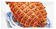 Ham On The Plate Hand Towel