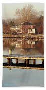 Hampton Virginia Sunrise Bath Towel