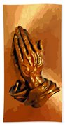 Hands Of God  Hand Towel