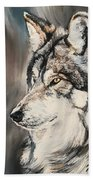 Handsome Wolf Bath Towel
