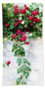 Hangin Roses Bath Towel