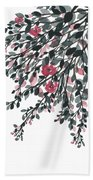 Hanging Leaves IIi Hand Towel