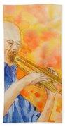 Hanson On Trumpet Bath Towel
