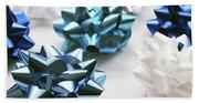 Hanukkah Bows- Photography By Linda Woods Hand Towel