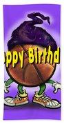 Happy Birthday Basketball Wiz Bath Towel