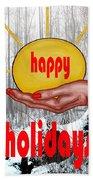 Happy Holidays 26 Bath Towel