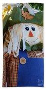 Happy Scarecrow Bath Towel