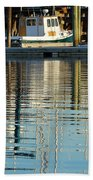 Harbor Reflections Bath Towel