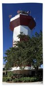 Harbourtown Lighthouse Bath Towel