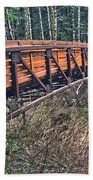 Hardy Creek Bridge Bath Towel