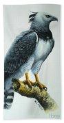 Harpy Eagle Bath Towel