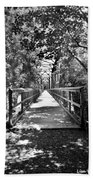 Harry Easterling Bridge Peak Sc Black And White Bath Towel