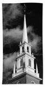 Harvard Memorial Church Steeple Bath Towel