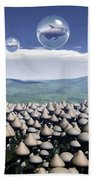 Harvest Day Sightings Bath Towel