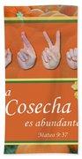 Harvest Spanish Hand Towel