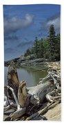 Hattie's Bay In Pukaskwa National Park Ontario Bath Towel