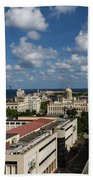 Havana Rooftops Bath Towel