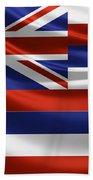 Hawaii State Flag Bath Towel