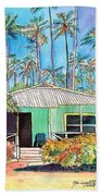Hawaiian Cottage I Bath Towel