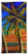 Hawaiian Moon #404 Hand Towel