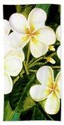 Hawaiian Plumeria #56 Bath Towel