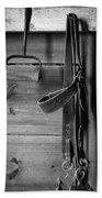 Hay Hook And Harness Bath Towel