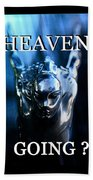Heaven T Poster #1 Bath Towel