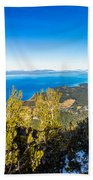 Heavenly South Lake Tahoe View 1 - Right Panel Bath Towel