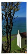 Heceta Head Lighthouse Bath Towel