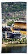 Heinz Field Pittsburgh Steelers Bath Towel