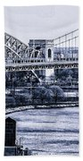 Hells Gate Bridge Triborough Bridge  Bath Towel