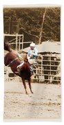 Helluva Rodeo-the Ride 3 Bath Towel