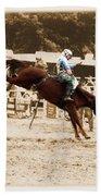 Helluva Rodeo-the Ride 4 Bath Towel