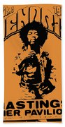 Hendrix 1967 Bath Towel