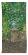 Henri Le Sidaner 1862 - 1939 The Pots Faience Bath Towel