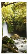 Hermon Stream Nature Reserve Banias Bath Towel