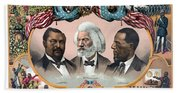 Heroes Of The Colored Race  Bath Towel